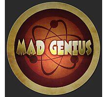 Logo - Mad Genius Photographic Print