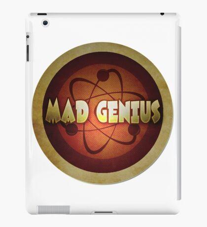 Logo - Mad Genius iPad Case/Skin