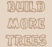 Build More Trees (font 2) by Andrew Alcock
