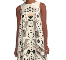 Woodland Folklore  A-Line Dress