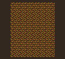 Colors of Autumn Pattern Unisex T-Shirt
