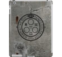The Halo of The Sun (Black) iPad Case/Skin