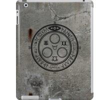 The Halo of The Sun (Black) iPad Case/Skin