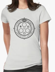 The Halo of The Sun (Black) Womens Fitted T-Shirt