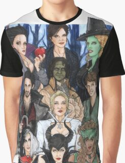 Once Upon A Villain Graphic T-Shirt