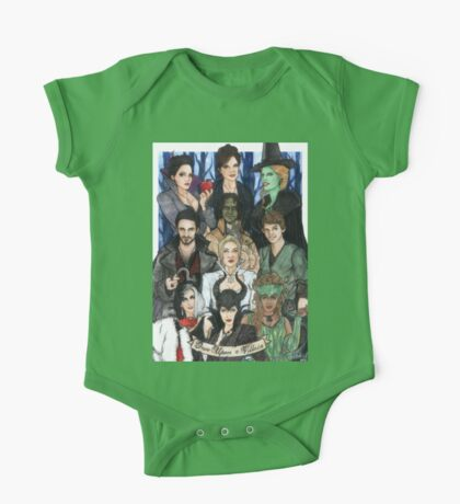 Once Upon A Villain One Piece - Short Sleeve