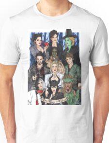 Once Upon A Villain Unisex T-Shirt