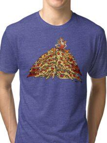 Pizza Dress Tri-blend T-Shirt