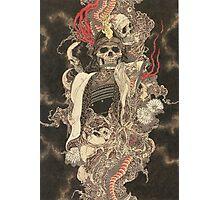 Skull SHOGUN Photographic Print