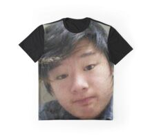 Strange Asian Teenager Graphic T-Shirt