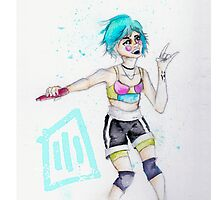"""Paramore on Monumentour: Aqua"" - iPhone Covers  by carpentre"