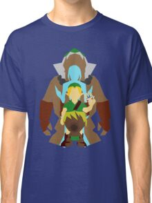 Majora's Mask: Mask Transformations. Classic T-Shirt