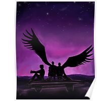 Purple Wings- Supernatural's Team Free Will Poster