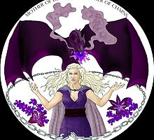 Daenaries Targaryen: Purple by miss0aer