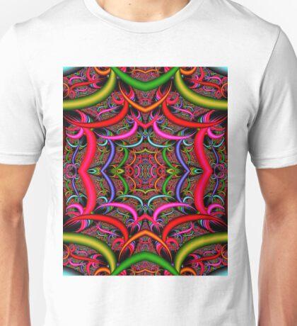 """ORIENTAL"" Psychedelic Art Deco Print Unisex T-Shirt"