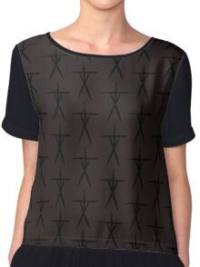 Blair Witch Stick Figures Chiffon Top