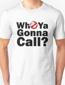 Adults Who Ya Gonna Call 1984 T-shirt