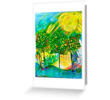 Summer in the Park Greeting Card