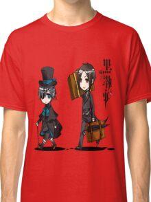 Black Butler Travel Chibis Classic T-Shirt