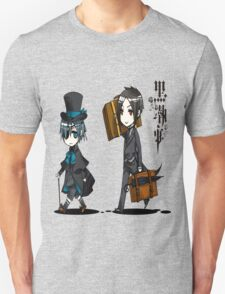 Black Butler Travel Chibis Unisex T-Shirt