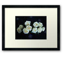 Angelic Roses Framed Print