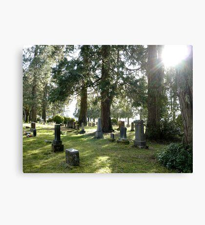 Fair Oaks Cemetery Canvas Print