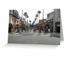 Hollywood Studios  Greeting Card