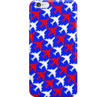 Patriotic Plane Pattern iPhone Case/Skin