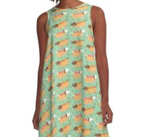 Little Sausages  A-Line Dress