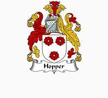 Hopper Coat of Arms / Hopper Family Crest Unisex T-Shirt