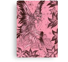 Pink Fantasy Fairy Canvas Print