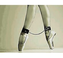 BDSM love - dance for me Photographic Print