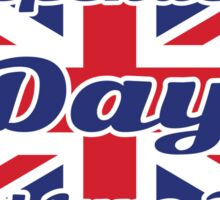 UK Independence Day  Sticker