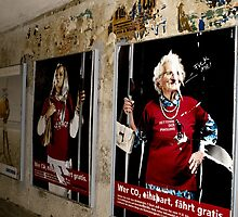 Granny Graffiti by Vintagee