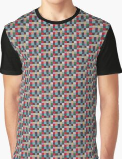 quirky vintage colorful fabric patchwork design Graphic T-Shirt