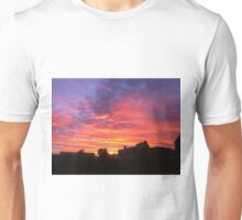 Fiery Sunset Unisex T-Shirt