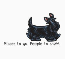Scottie People to Sniff by offleashart