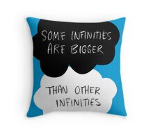 The Fault in Our Stars - Some Infinities Are Bigger Than Other Infinities Throw Pillow