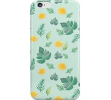 Summer Leaves and Sun  iPhone Case/Skin