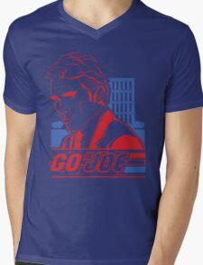 Go Joe (Macmillan) T-Shirt Mens V-Neck T-Shirt