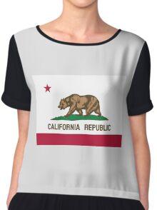 Flag of California  Chiffon Top