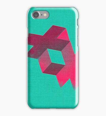 Isometric #2 iPhone Case/Skin