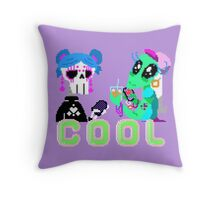 Cool Girls Throw Pillow