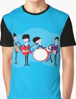 Shagy beatle blue Graphic T-Shirt