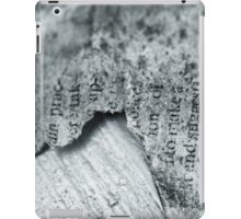 Tattered Pages iPad Case/Skin