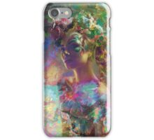 flower queen iPhone Case/Skin