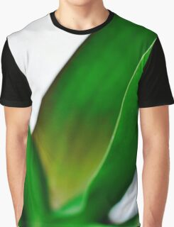 Orchid Leaves Graphic T-Shirt
