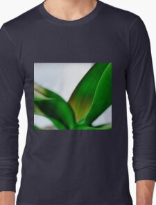 Orchid Leaves Long Sleeve T-Shirt