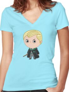 Draco Malfoy Women's Fitted V-Neck T-Shirt