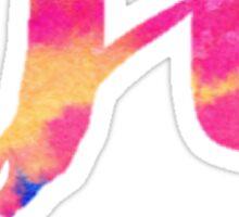 Pi Tie Dye Sticker